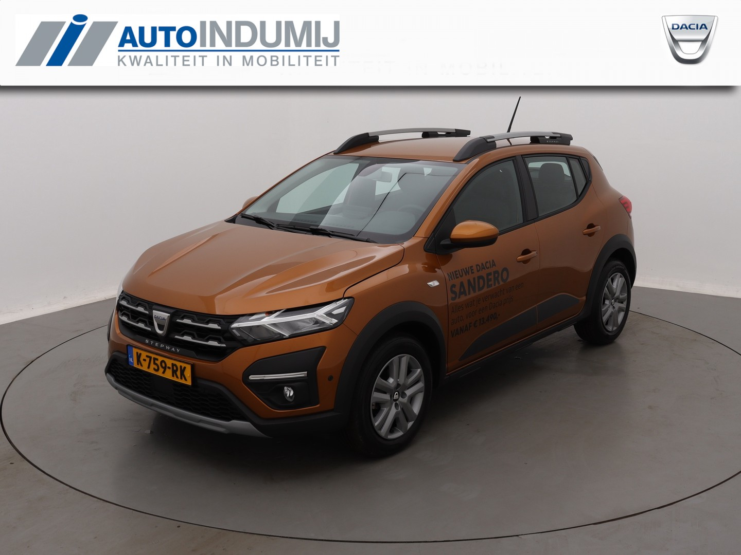 Dacia Sandero Tce 90 stepway comfort / pack assist / media nav europa