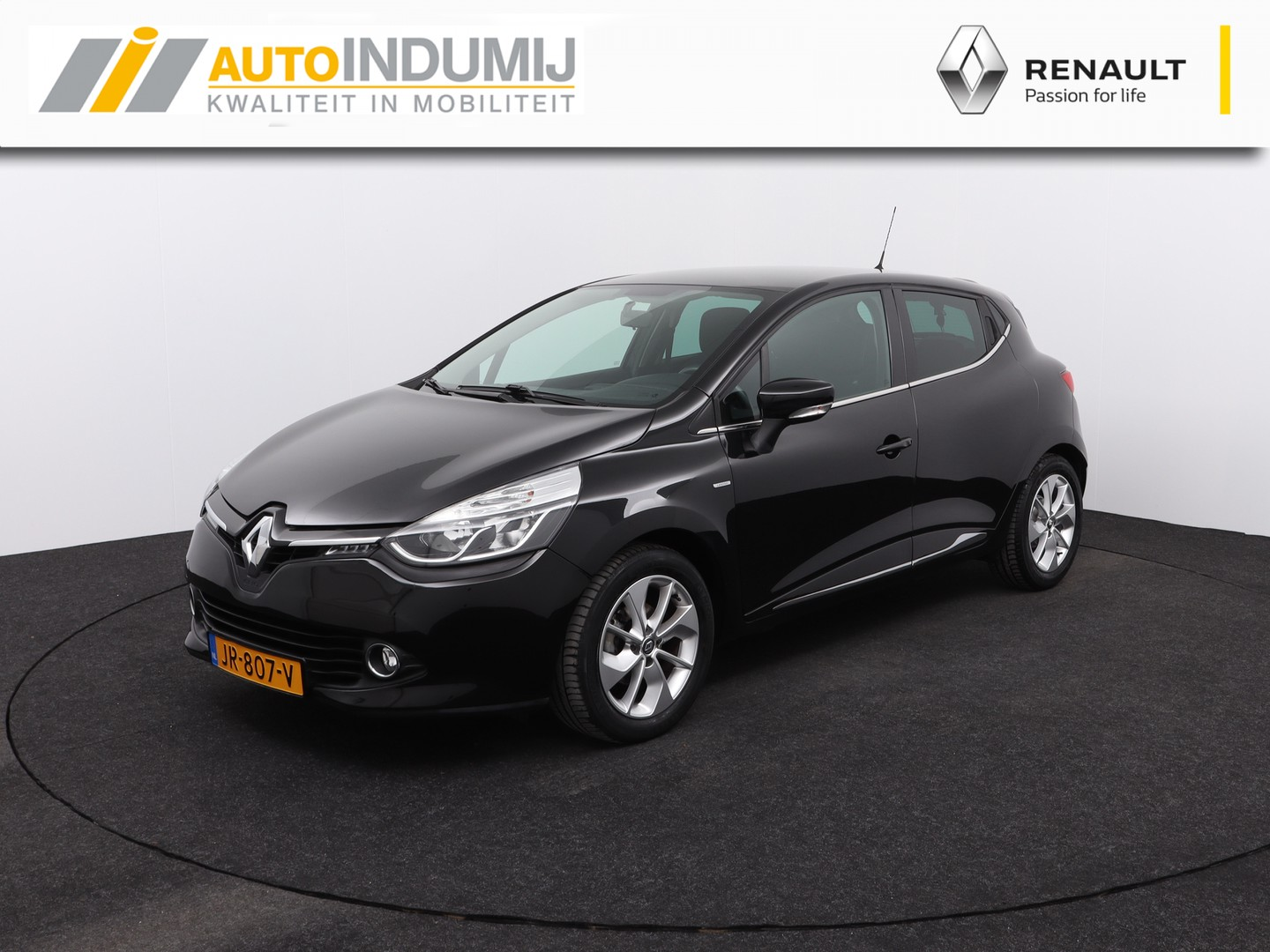 Renault Clio Tce 90 limited / airco / parkeersensoren / usb & bluetooth