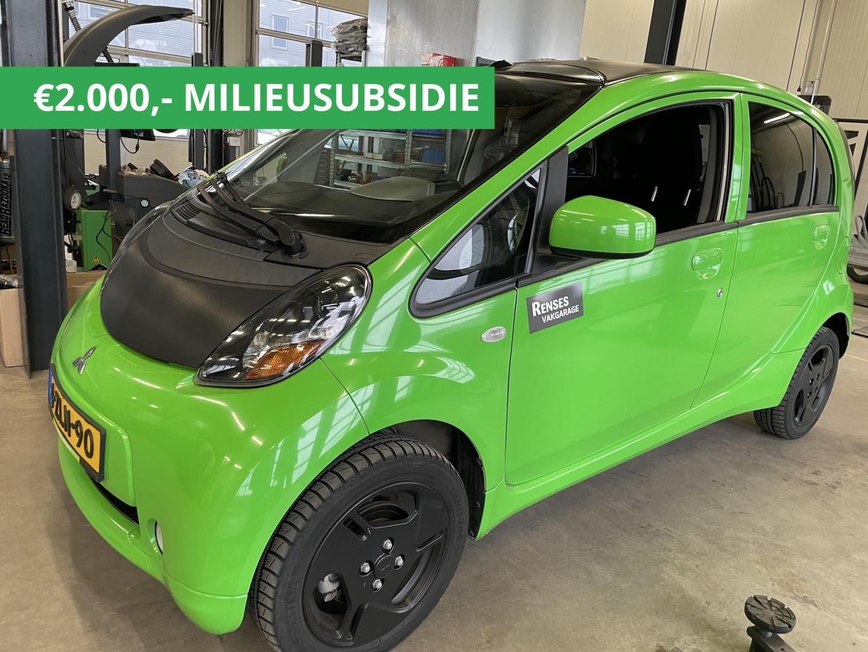 Mitsubishi I-miev Wrap green 9480 / 7480 na milieusubsidie!