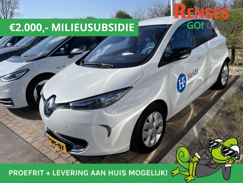 Renault Zoe Q210 zen quickcharge 22 kwh €9380: €7380 na milieusubsidie!!