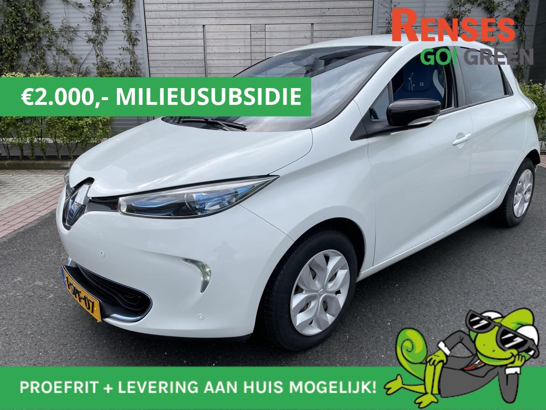 Renault Zoe Q210 zen 7.880 - 5880 na milieusubidie quickcharge 22 kwh
