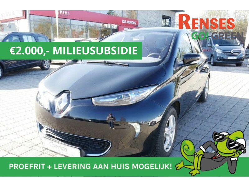 Renault Zoe Q210 intens 7.880 - 5880 na milieusubsie quickcharge 22kwh