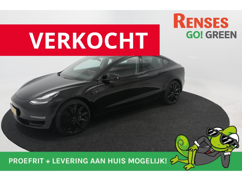Tesla Model 3 Standard + trekhaak + black pack + 8% bijtelling