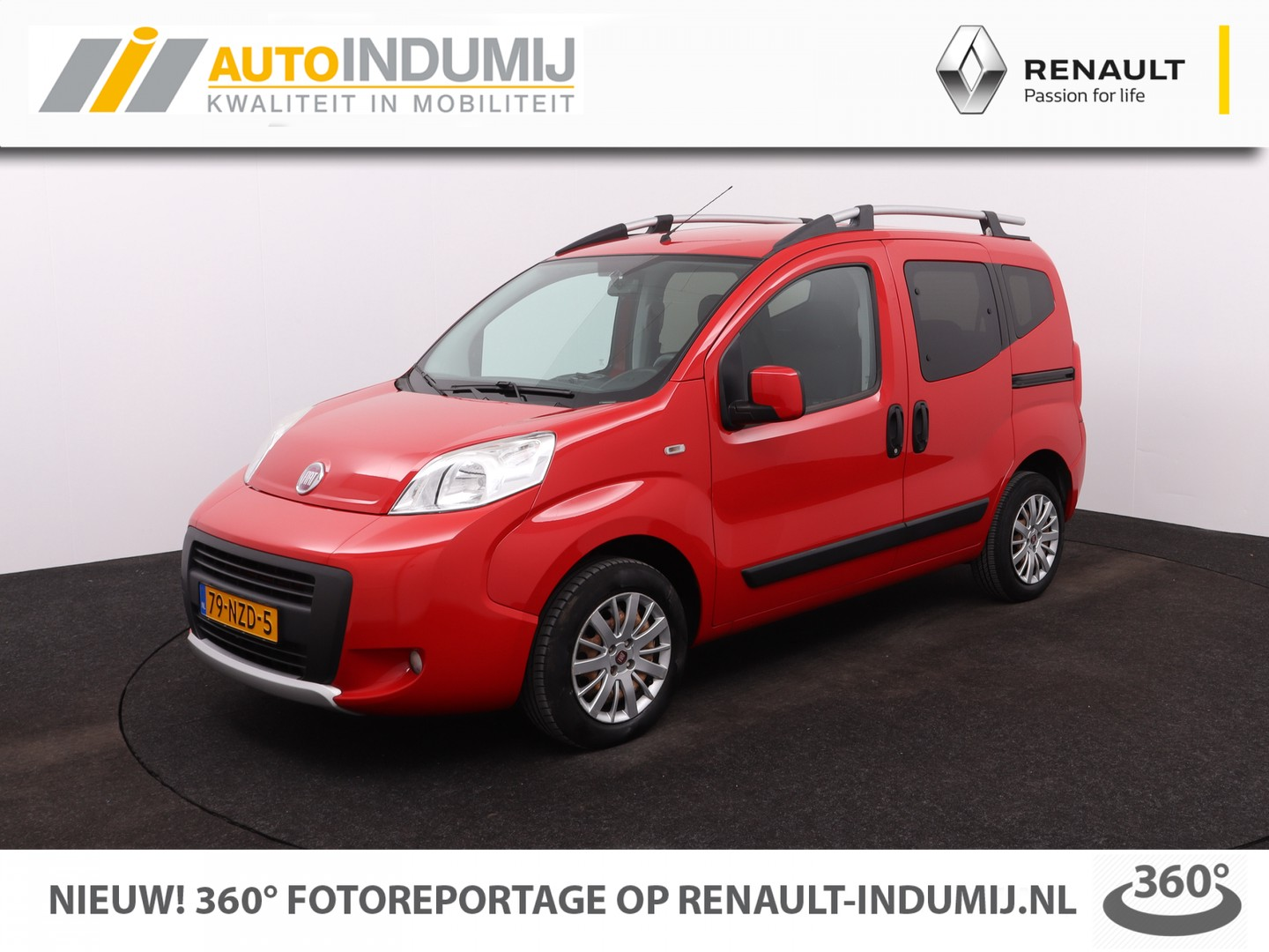 Fiat Qubo 1.4 trekking limited edition / perfecte staat! // airco