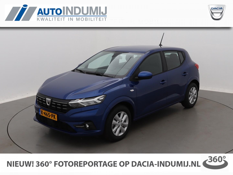 Dacia Sandero Tce 100 bi-fuel comfort / demo! // apple-carplay/android-auto / airco / licht- regensensor / parkeersensoren