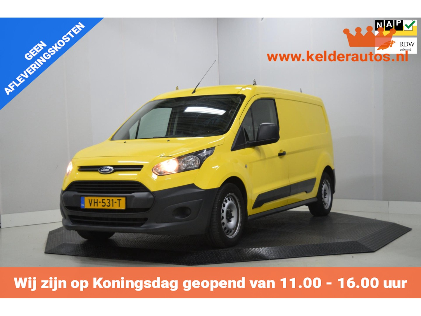 Ford Transit connect 1.6 tdci l2 ambiente airco