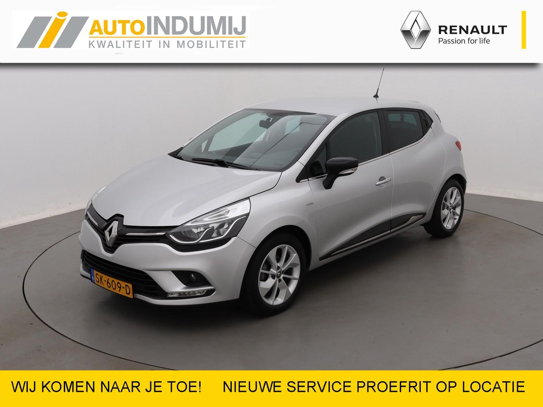 Renault Clio Tce 90 limited  / metallic / airco / navigatie / parkeersensoren achter