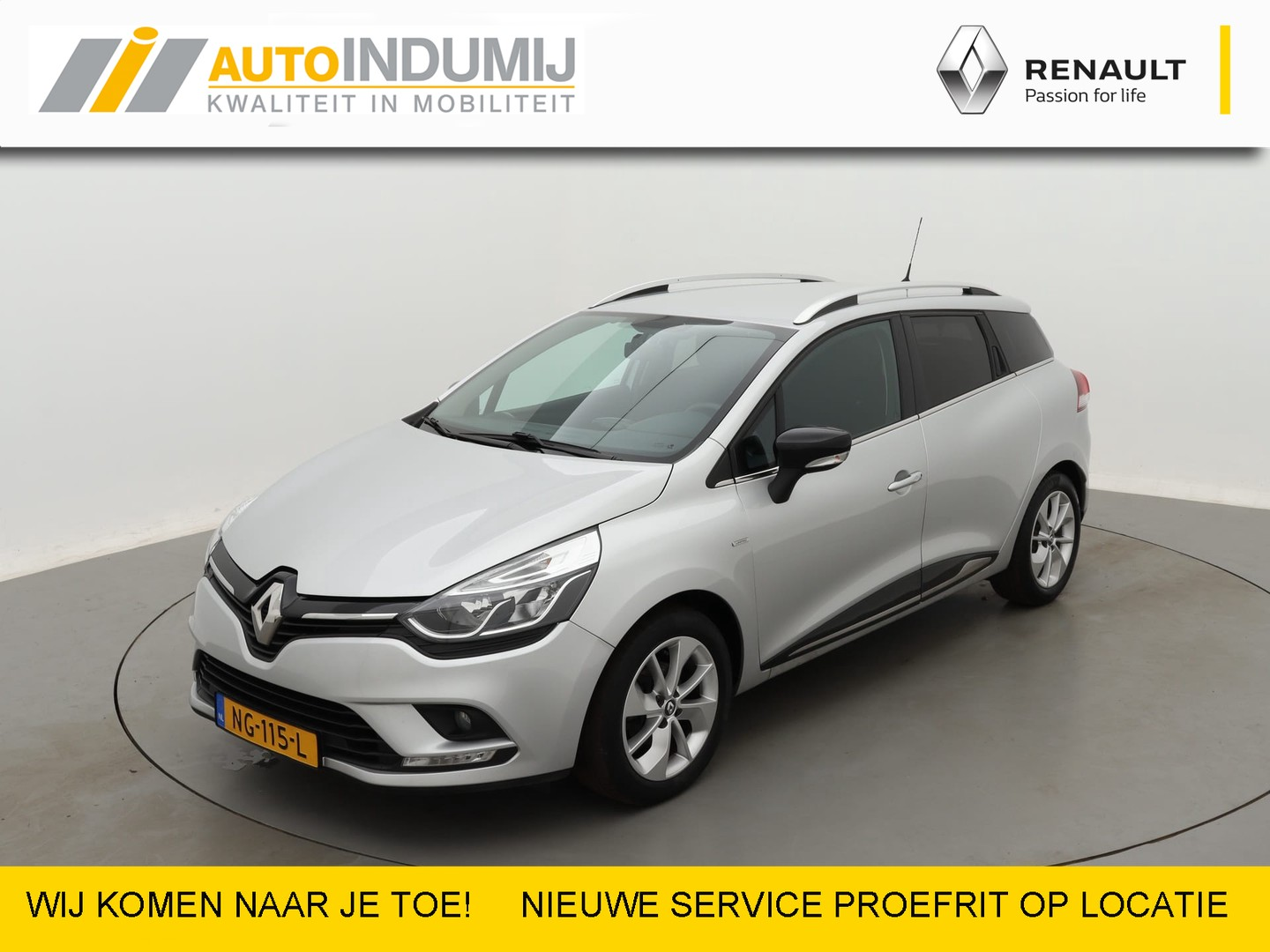 Renault Clio Estate tce 90 limited  / navi / airco / dab / pdc achter / lm velgen 16''