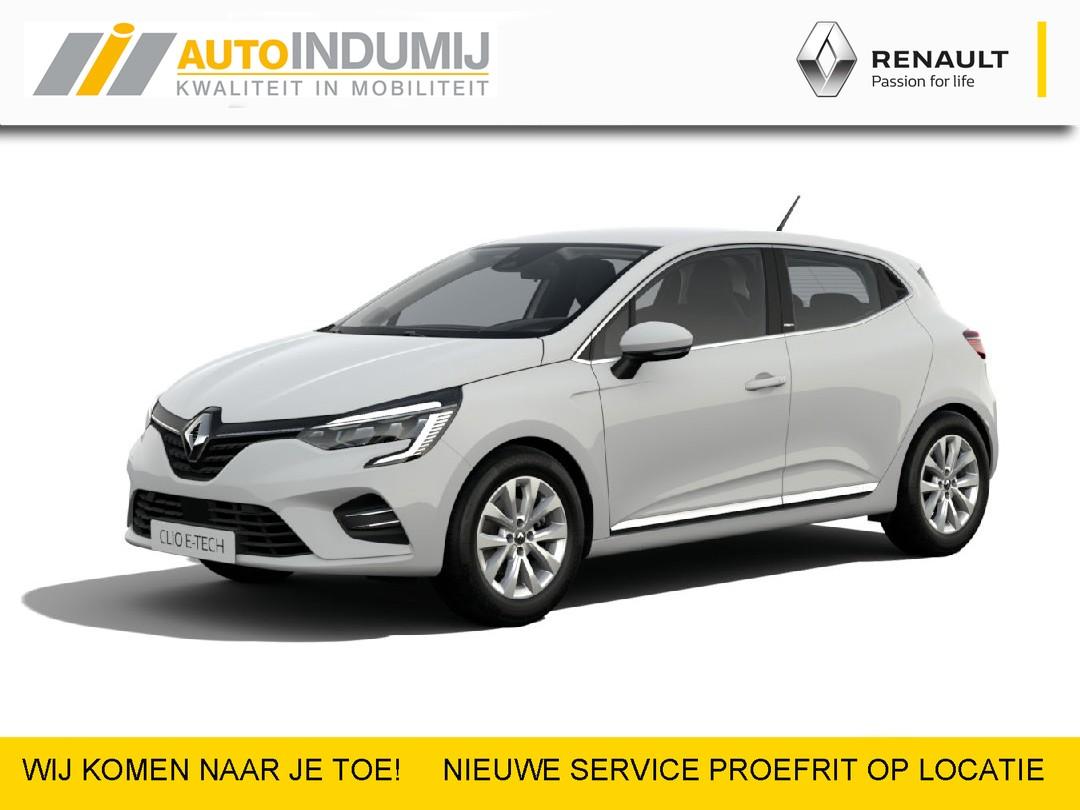 Renault Clio Hybrid 140 intens  / zuinig / geen stekker / luxe / voordelig / reserveer een proefrit!