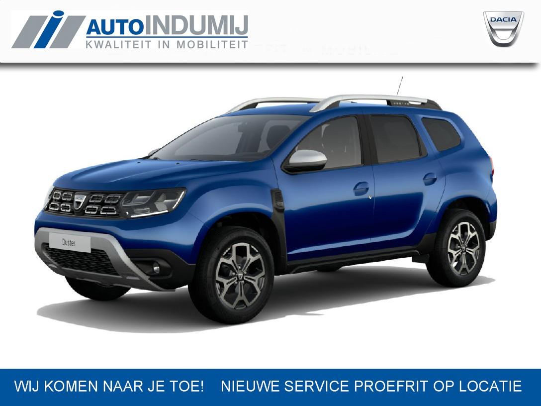 Dacia Duster Tce 100 bi-fuel prestige met 2 jaar extra garantie tot max. 100.000 km  / zuinig rijden op lpg / stoer / value for money bij indumij