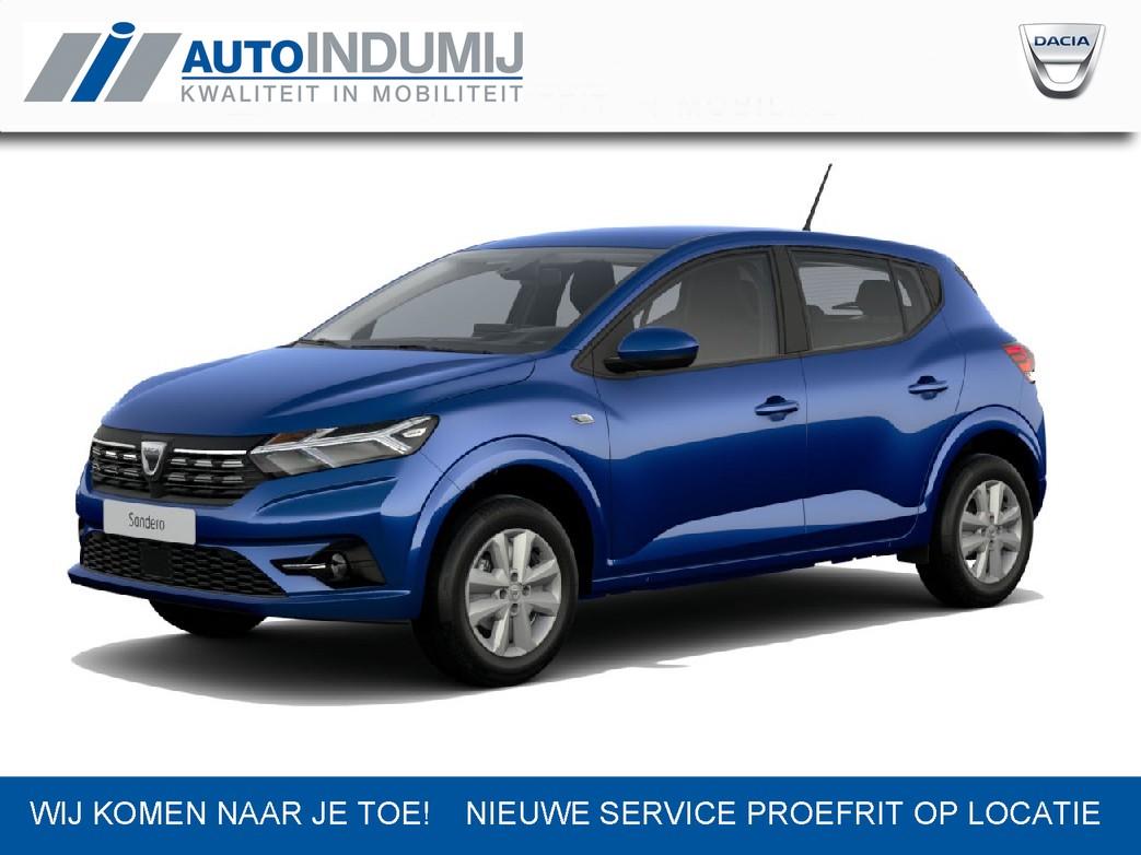 Dacia Sandero Tce 100 bi-fuel comfort met 2 jaar extra garantie tot max. 100.000 km  / lpg g3 = lage brandstofkosten / nieuw type / snel beschikbaar