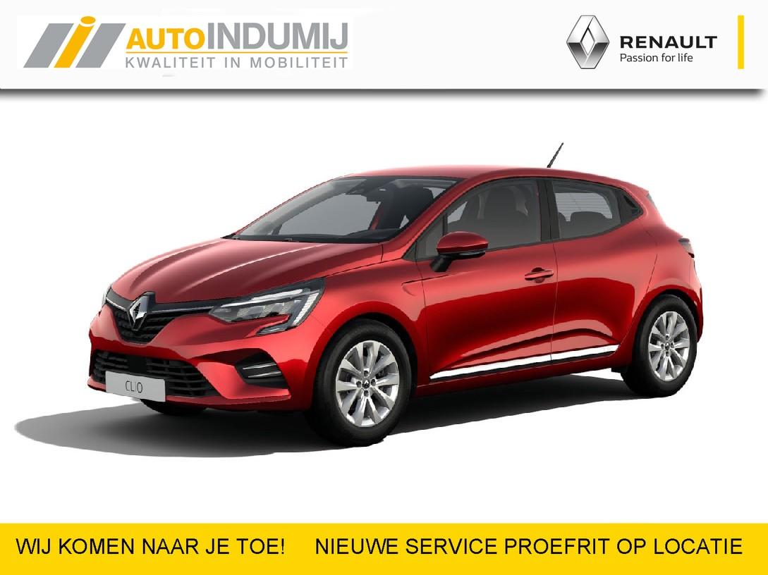 Renault Clio Tce 100 bi-fuel zen (nu met 5 jaar fabrieksgarantie max. 70.000 km)  / goedkoop rijden op lpg / sportief / compleet / uit voorraad leverbaar bij indumij / private lease 60 mnd/50.000 km totaal vanaf € 330,46