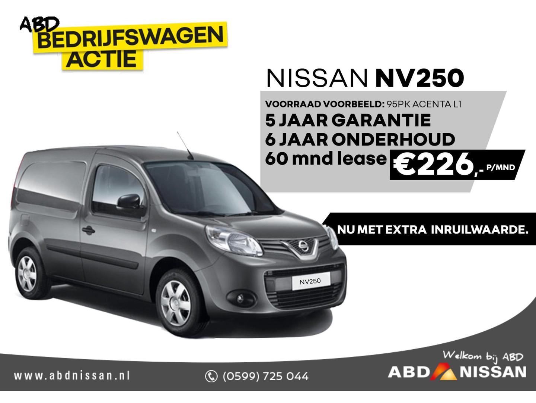 Nissan Nv 250 1.5 dci 95 l1h1 acenta