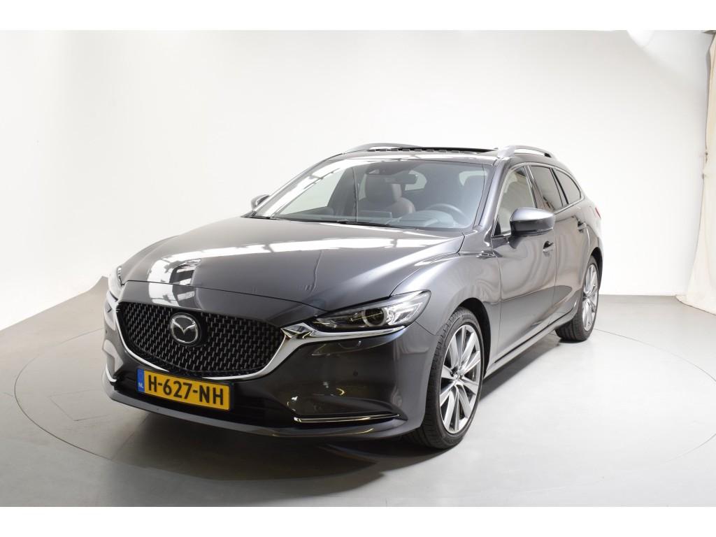 Mazda 6 Sportbreak 2.5 skyactiv-g signature automaat leer 360 camera schuifdak