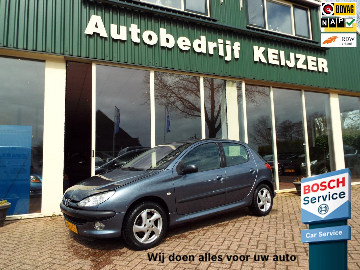 Peugeot 206 2.0 hdi gentry 5-drs-airco-apk