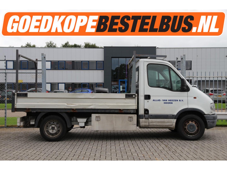 Opel Movano 2.2 dti 90pk * apk 02-2022 * open laadbak * trekhaak..