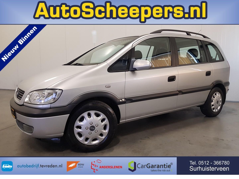 Opel Zafira 1.6-16v elegance airco/trekhaak/7 zits/nap