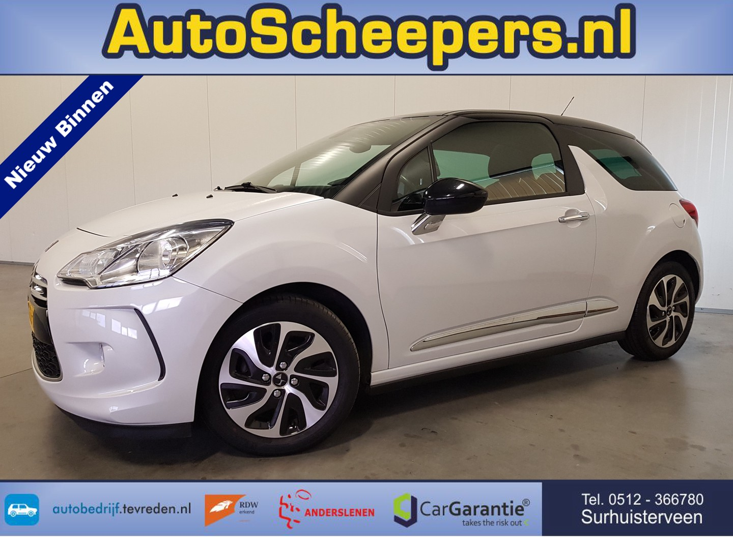 Ds Ds 3 1.6 bluehdi business navi/cruise/pdc/clima/lmv