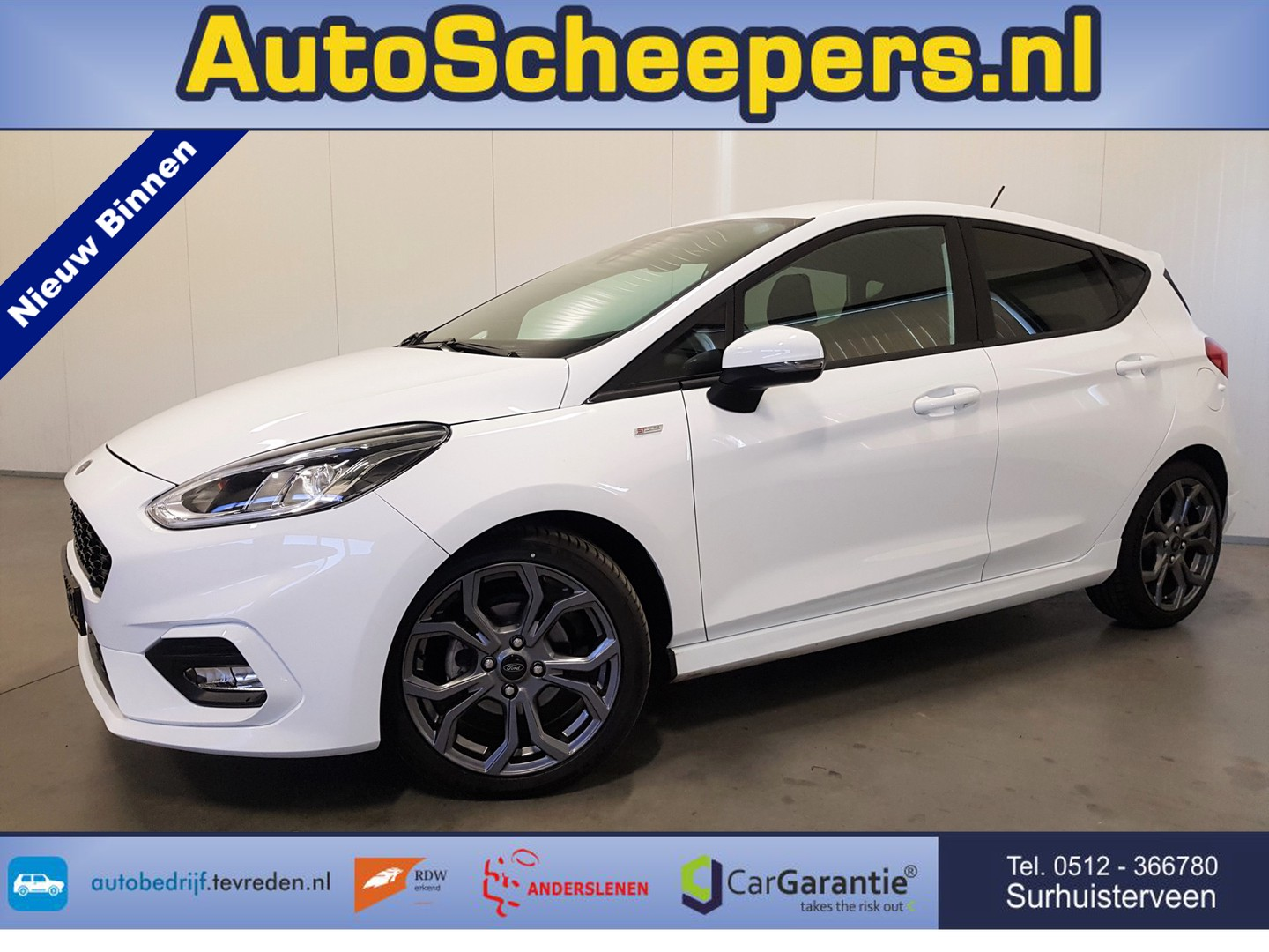 Ford Fiesta 1.0 ecoboost st-line cruise/pdc/clima/lmv