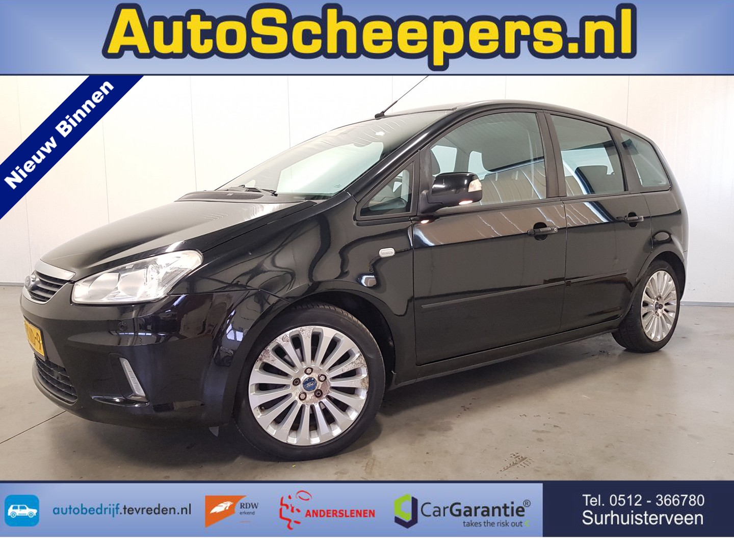 Ford C-max 1.8-16v limited navi/clima/cruise/pdc/trhaak
