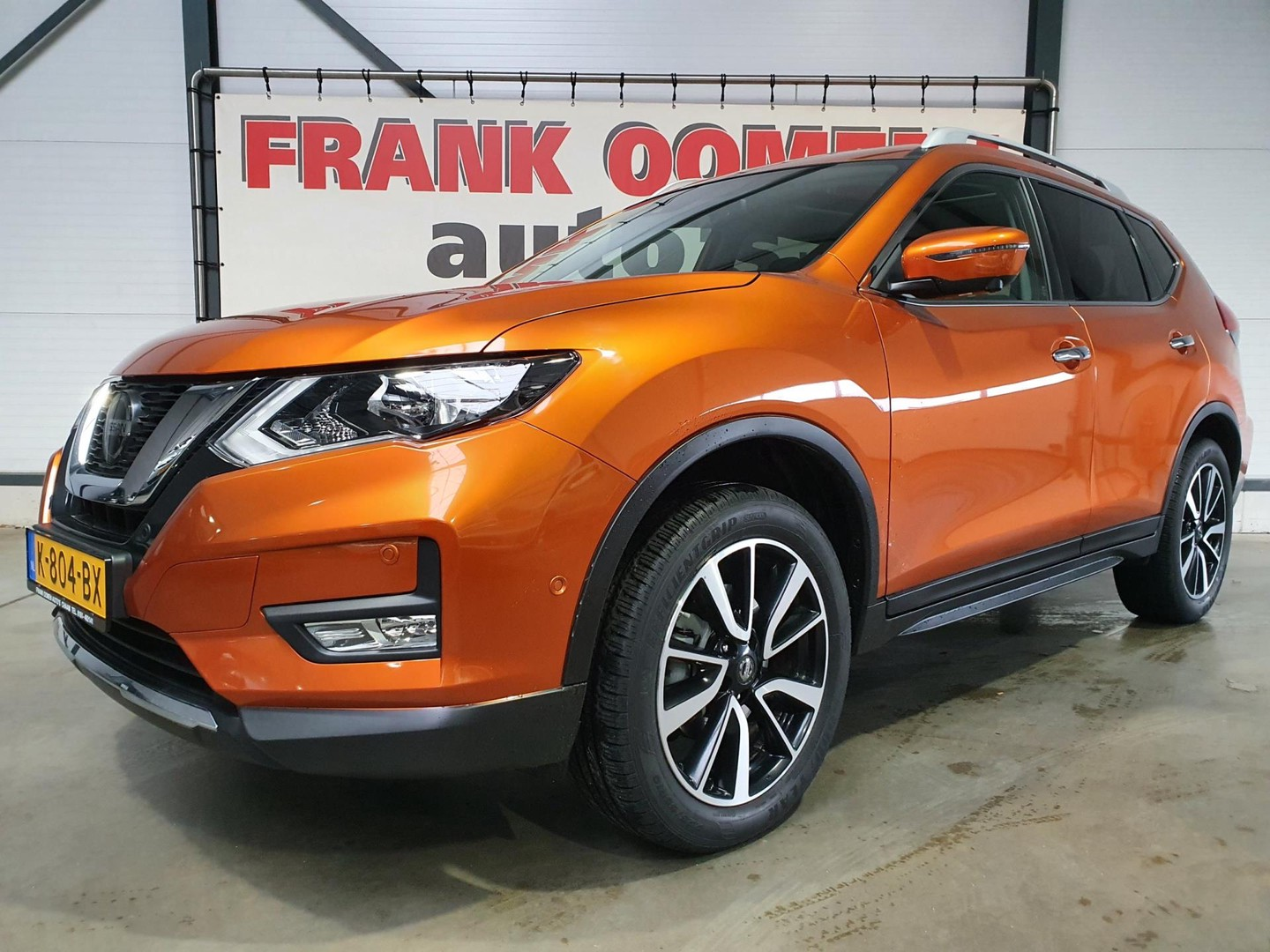 """Nissan X-trail 1.3 dig-t 159pk n-connecta 7pers. + navi/panorama/camera/pdc/bluetooth/clima/cruise/19""""lmv"""