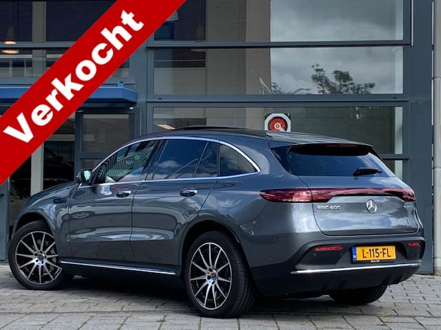 Mercedes-benz Eqc 400 4matic business solution amg / navigatie / camera / head up display / electr dak / nederlandse auto / 1e eigenaar!