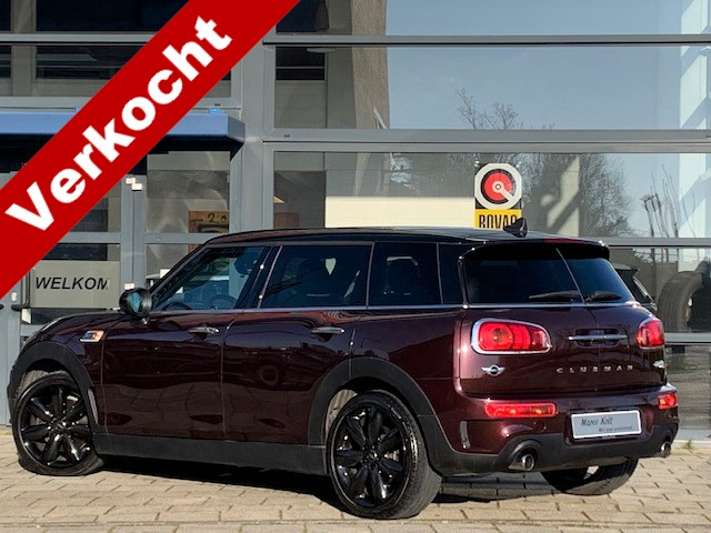 "Mini Clubman 2.0 cooper s chili turbo 192 pk / automaat / navigatie / camera / harman-kardon hifi / head up display / 18"" lm velgen / 1e eige"