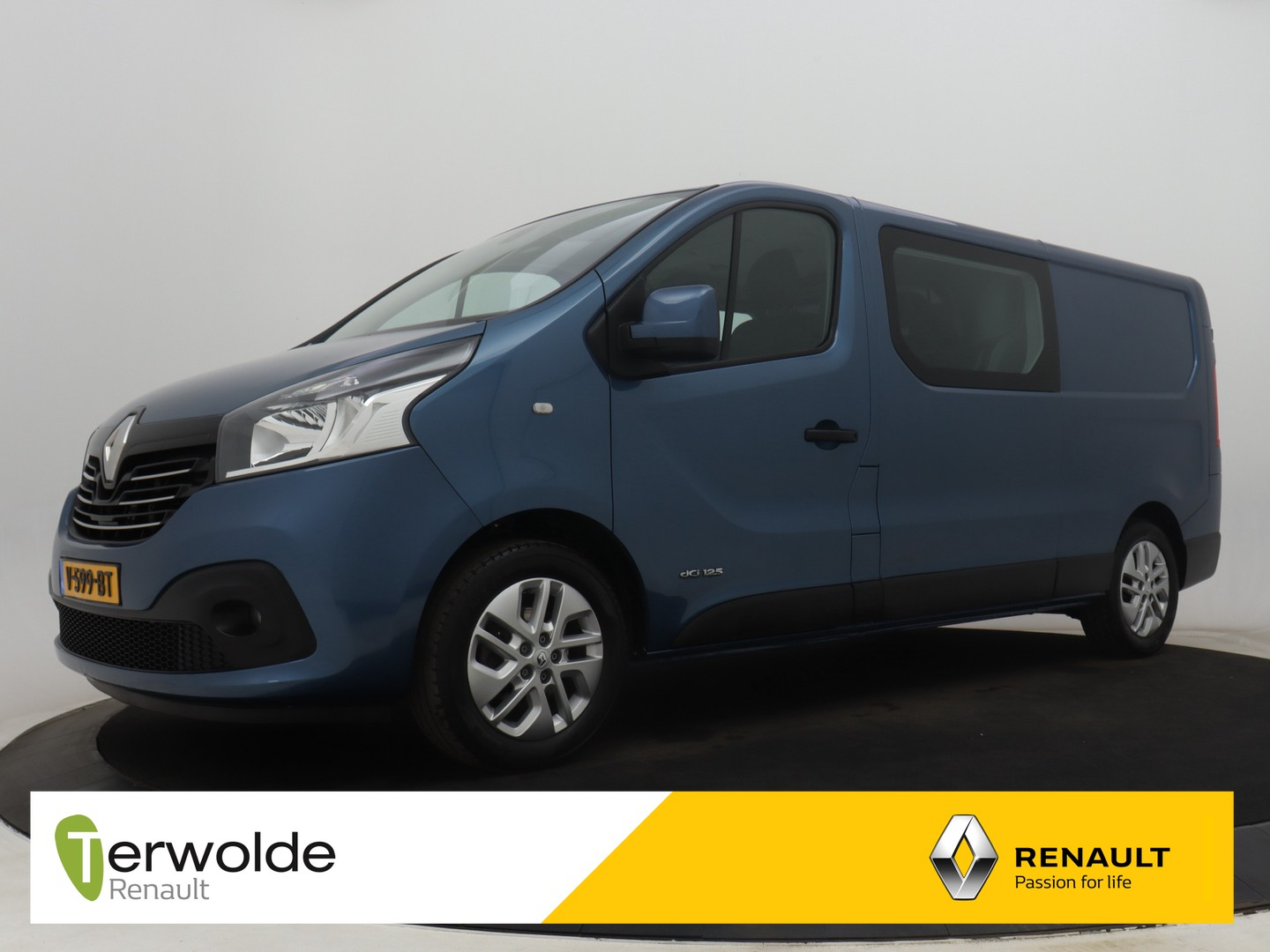 Renault Trafic 1.6 dci 125pk t29 l2h1 dc luxe energy airco i navigatie
