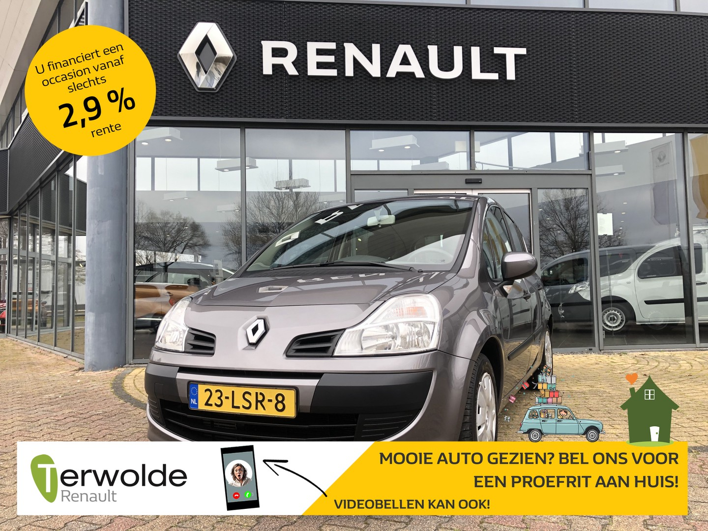 Renault Grand modus 1.2 tce 100pk expression airco