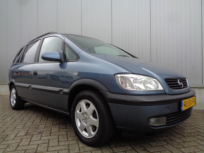 Opel Zafira 1.8-16v elegance 116pk airco lmv automaat 140dkm