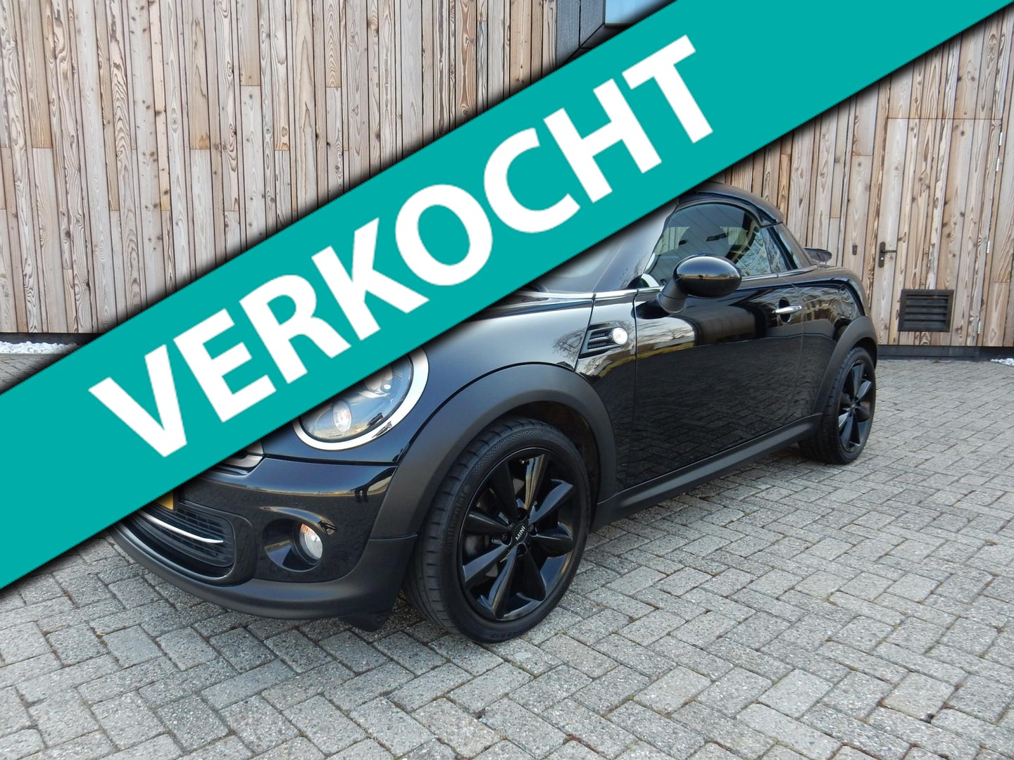 Mini Mini Coupé 1.6 cooper chili vol leer navi bluetooth clima cruise 17inch!