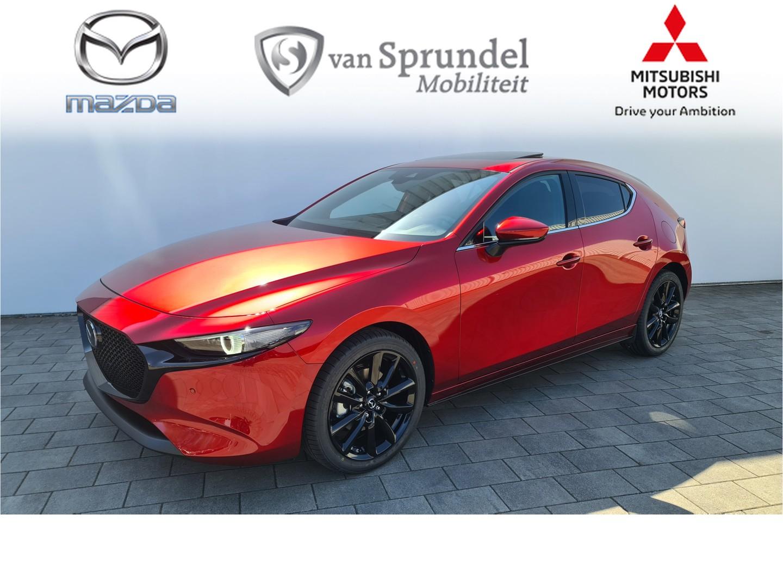 Mazda 3 2.0 e-skyactiv-x 186 luxury + sunroof