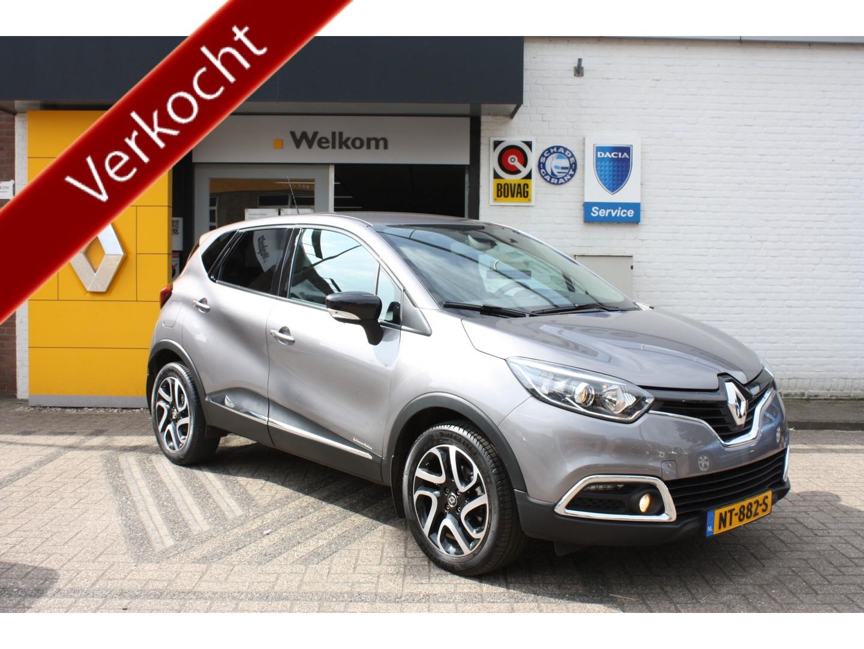 Renault Captur Dci 110 dynamique + trekhaak + camera, nl auto dealer onderhouden