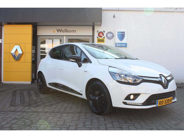Renault Clio Iv tce 90 limited + navi + pdc, nl auto, dealer onderhouden