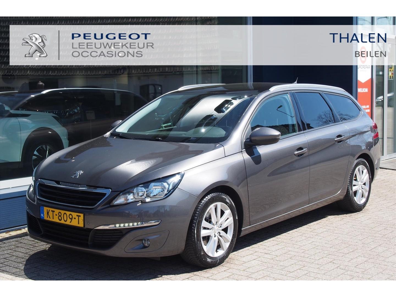 Peugeot 308 Sw excecutive 1.6 e-hdi 120 pk / navi / clima / cruise c. / pano dak / 1:20 praktijk verbruik
