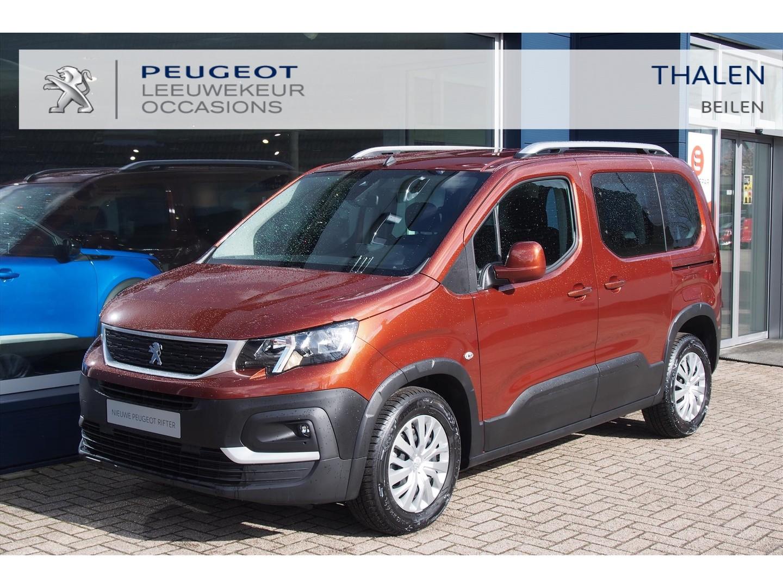Peugeot Rifter € 7.000,- demo korting / okt. 2020 / 6 bak / 2x schuifdeur / parkeersensoren / dakrails / pack look / touchscreen navigatie via
