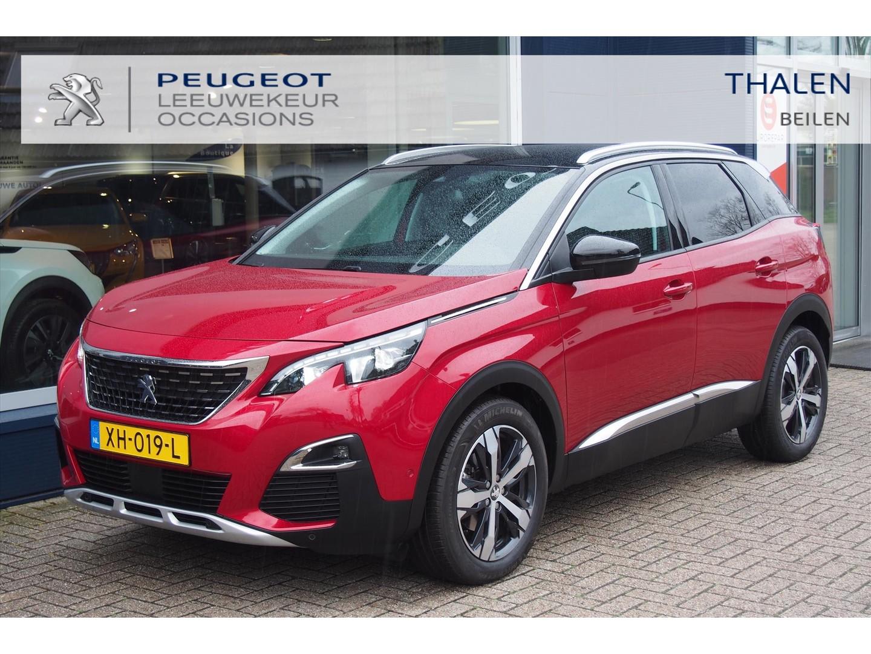 Peugeot 3008 Allure automaat eat8 navigatie/full led/black diamond dak/ 1 eig./ als nieuw