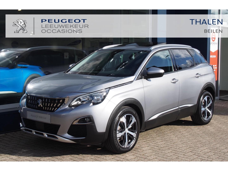 Peugeot 3008 Allure hdi 130pk / schuifdak / 1500kg trekgewicht / camera / keyless / elek kofferklep / navigatie / zeer compleet / als nieuw!