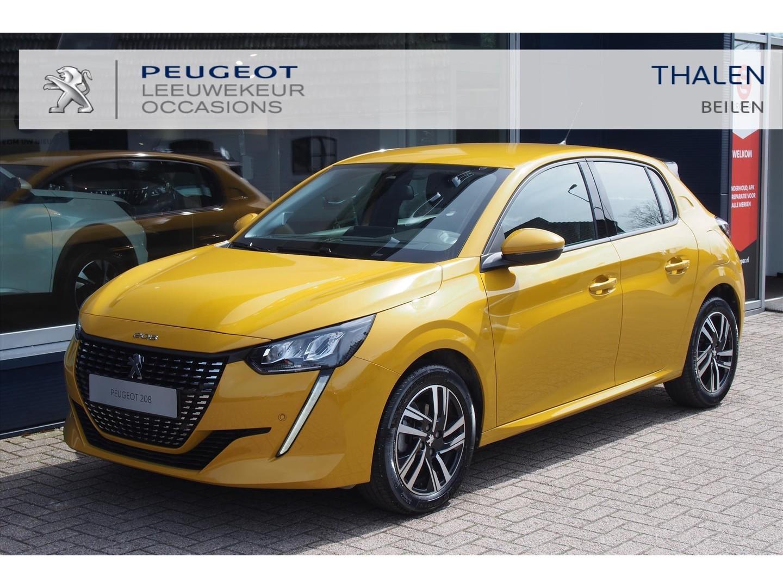 Peugeot 208 Allure pack automaat 100 pk € 6500,- demo voordeel navigatie/camera/parkeerhulp v+a/ digitaal dashboard/ keyless/stoelverwarming/draadloos laden/etc.