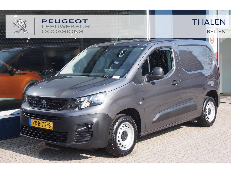 Peugeot Partner Premium 100 pk met aklep + schuifdeur - demonstratieauto met € 2.500 demovoordeel, direct leverbaar