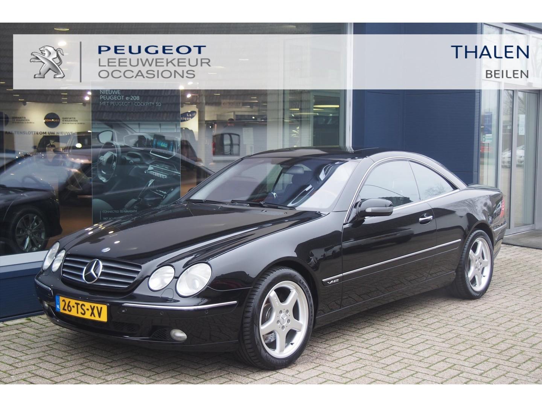 Mercedes-benz Cl 600 coupe aut youngtimer uitzonderlijk nette auto! nieuwprijs € 172.500,-! !