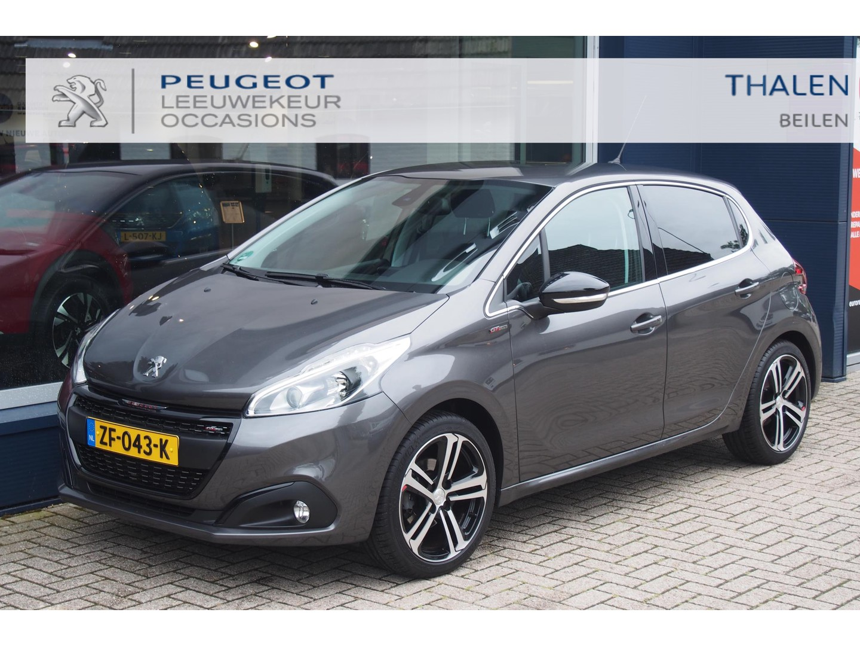 "Peugeot 208 Gt-line 110pk turbo met navi/climate control/dab+/17"" lichtmetaal"