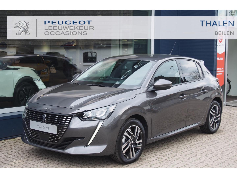 Peugeot 208 100 pk allure pack 3-2021 nu met € 2.750 demokorting zeer compleet met navigatie/dab/camera/parkeerhulp