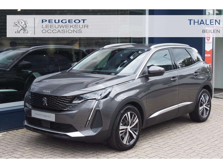 Peugeot 3008 Allure pack 130pk 3-2021 nieuwste model € 6.500,- demo korting - allure pack/led verlichting/navi/camera/stoelverwarming/keyless/ elektr. klep etc.
