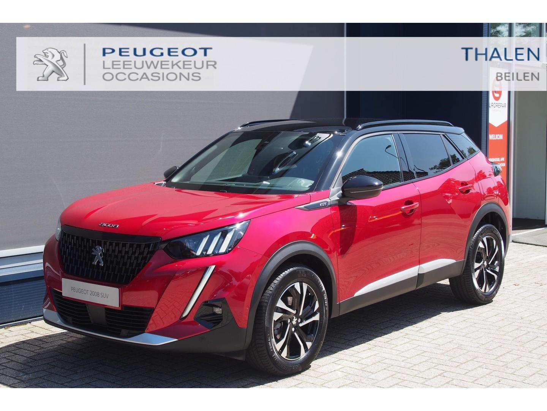 Peugeot 2008 Gt 130pk eat8 automaat 2021 nu € 4.300,- demo korting / gt uitvoering de meest complete 2008 !