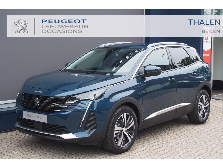 Peugeot 3008 Allure pack 130pk 2021 nieuwste model nu € 6.500,- demo korting - allure pack/led verlichting/navi/camera/keyless/ elektr. klep etc.