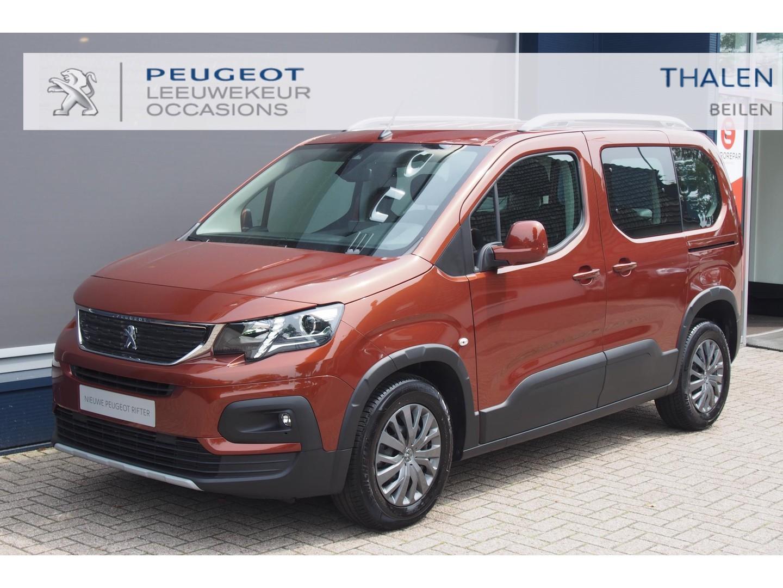 Peugeot Rifter Allure 130 pk automaat eat8 2-2021  € 7.000,- demovoordeel automaat hoge zit/2x schuifdeur/navigatie apple carplay & android auto zeer compleet