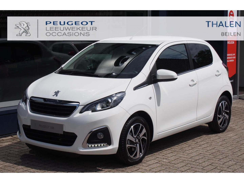 Peugeot 108 1.0 e-vti allure climate control/apple carplay & android auto/ dab+/camera - nieuwe auto, direct leverbaar!
