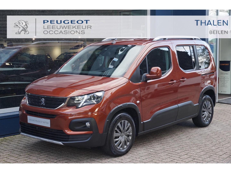 Peugeot Rifter Allure 110pk 5-2021  € 7.500  demo voordeel  2x zijschuifdeur/navigatie/dab/hoge zit/ dakrail zeer praktische auto!