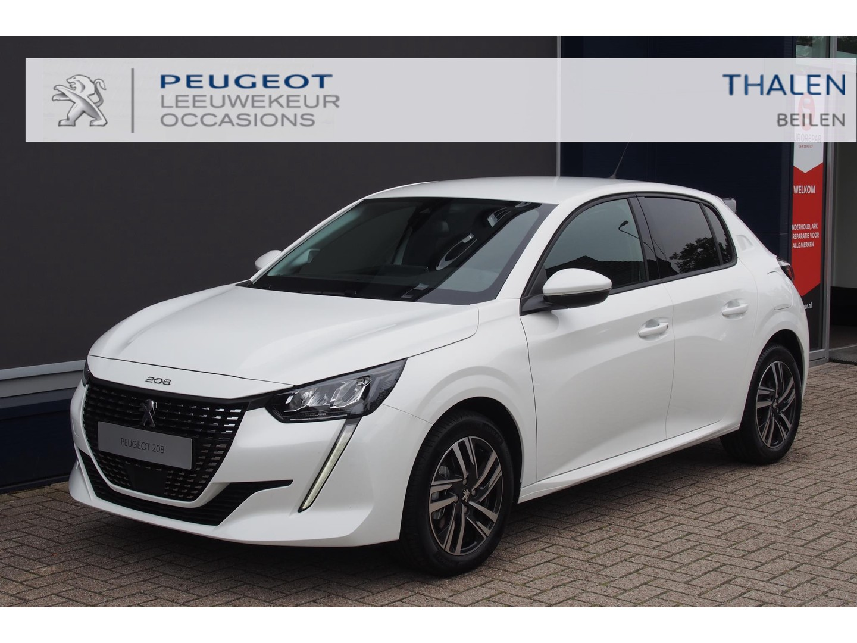 Peugeot 208 Allure pack 100pk automaat 5-2021 € 3000,- demo korting met navigatie/camera/dab zeer compleet